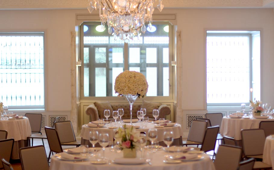 tow banquets and cocktail rooms